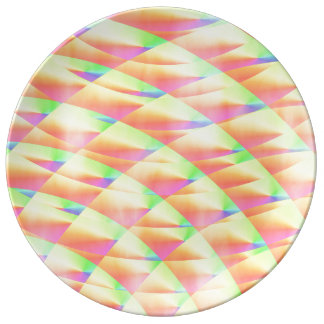Bright Interference Porcelain Plates