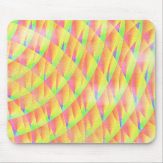 Bright Interference Mouse Pad