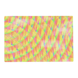 Bright Interference Laminated Place Mat