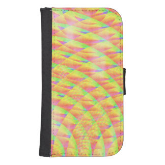 Bright Interference Galaxy S4 Wallet Cases