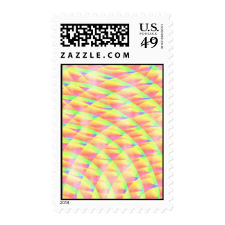 Bright Interference Postage Stamps