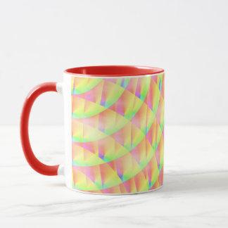 Bright Interference Ringer Mug