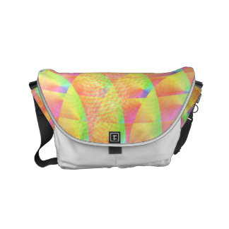 Bright Interference Small Messenger Bag