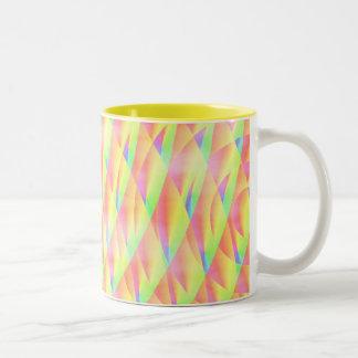 Bright Interference Two-Tone Mug