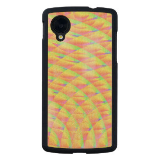 Bright Interference Carved® Maple Nexus 5 Slim Case