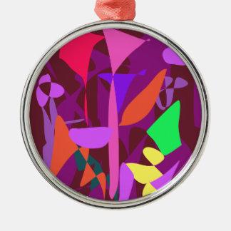 Bright Irregular Forms 3 Ornament