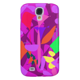 Bright Irregular Forms 4 Galaxy S4 Cover