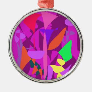 Bright Irregular Forms 4 Ornaments