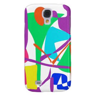 Bright Irregular Forms Samsung Galaxy S4 Cases