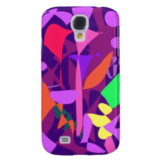 Bright Irregular Forms Galaxy S4 Cover