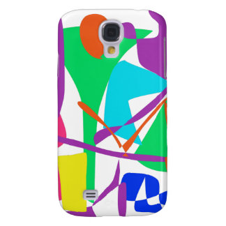 Bright Irregular Forms Galaxy S4 Covers