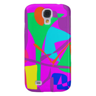 Bright Irregular Forms Galaxy S4 Cases