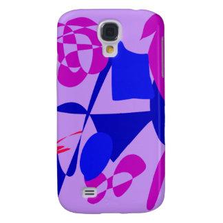 Bright Irregular Forms Galaxy S4 Case