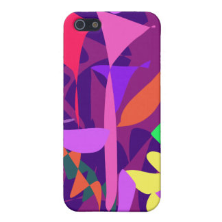 Bright Irregular Forms iPhone SE/5/5s Cover