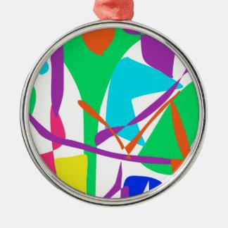 Bright Irregular Forms Ornament