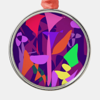 Bright Irregular Forms Ornaments
