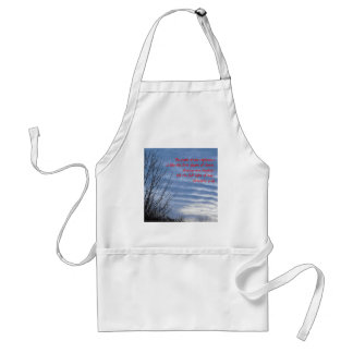 Bright January Dawn Adult Apron