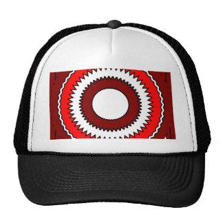 Bright Kaleidoscope Mandala Mesh Hats