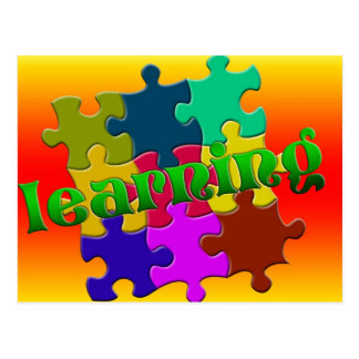 Bright Learning Postcard