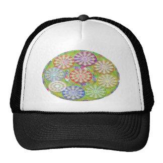 Bright Life Like - Revolving Family of Circles Hat