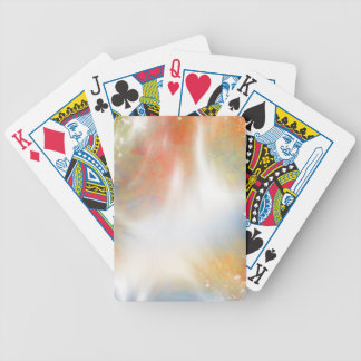 Bright Light Abstract Bicycle® Playing Cards