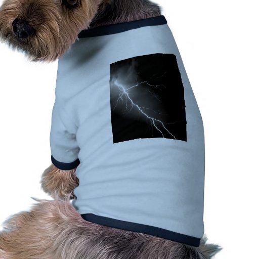 Bright Lightning Dark Night Sky Pet Clothes