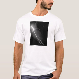 Bright Lightning Dark Night Sky T-Shirt