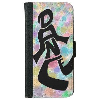 Bright Lights Dance Iphone 6 Wallet Case