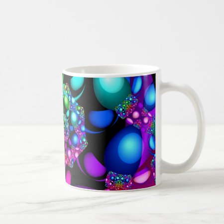 Bright Lights Fractal Coffee Mug