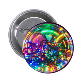 Bright Lights of Christmas 2 Inch Round Button
