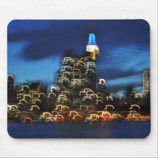 Bright Lights of New York City Mouse Pad