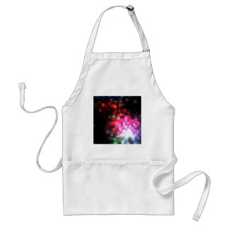 Bright Lights of Space Adult Apron