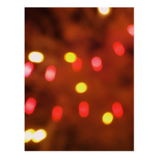 Bright lights Party Invite Postcard