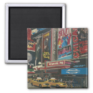 Bright Lights Times Square 2012 Magnet