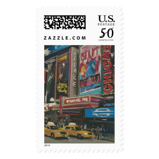 Bright Lights Times Square 2012 Postage