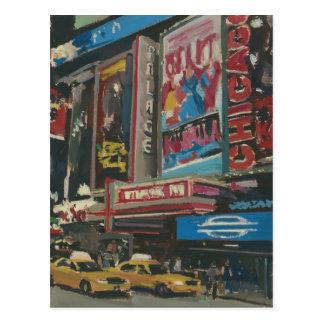 Bright Lights Times Square 2012 Postcard