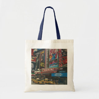 Bright Lights Times Square 2012 Tote Bag
