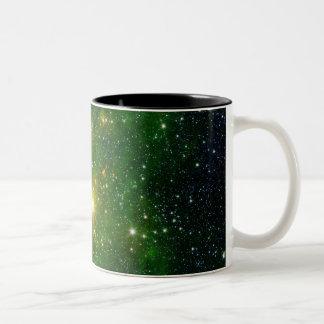 Bright Lights Two-Tone Coffee Mug