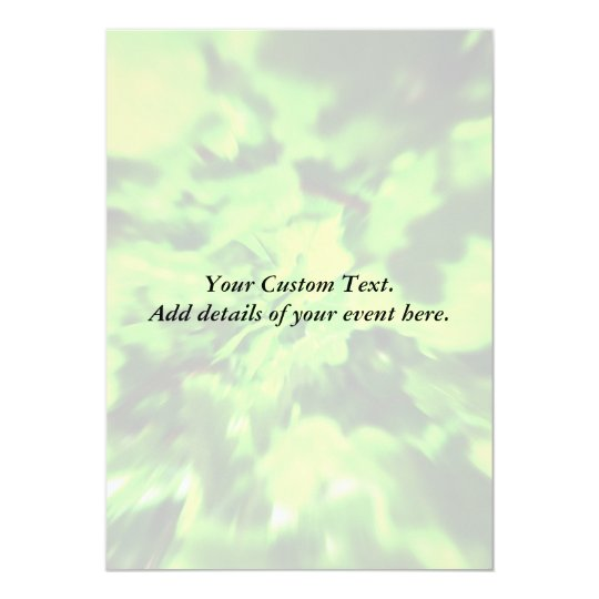 Bright Lime Green and Dark Green Abstract. Card