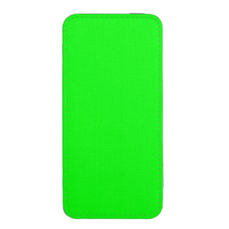 Bright lime green color iPhone 5 pouch