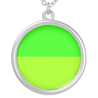 bright lime green color jewelry