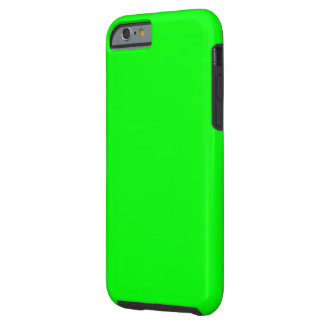 Bright lime green color tough iPhone 6 case
