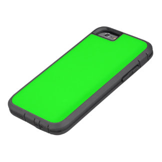 Bright lime green color tough xtreme iPhone 6 case