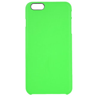 Bright lime green color uncommon clearly™ deflector iPhone 6 plus case