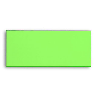 Bright lime green envelopes