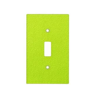 Bright Lime Green Neon Trendy Colors Light Switch Cover