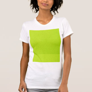 Bright Lime Green Neon Trendy Colors T Shirt