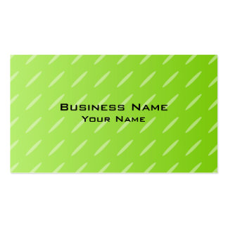 Bright Lime Green Patterned Background Design. Double-Sided Standard Business Cards (Pack Of 100)