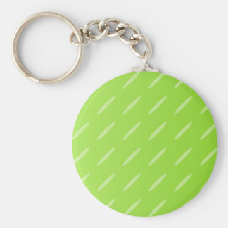 Bright Lime Green Patterned Background Design. Keychain
