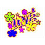 BRIGHT LOVE POSTCARD